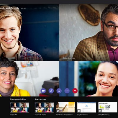 Microsoft Teams Video Konferans