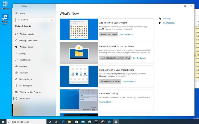 Windows 10 - Yenilikler