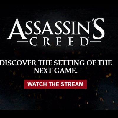 Yeni Assassin's Creed oyunu Twitch üzerinden tanıtılıyor!