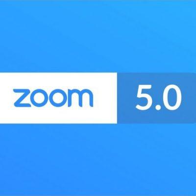 Zoom 5.0 yayınlandı