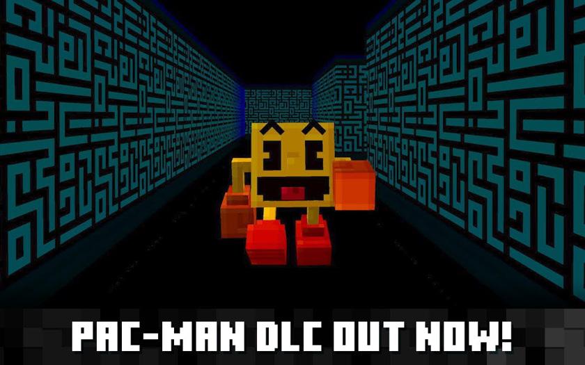 PAC-MAN resmi olarak Minecraft'a geldi!
