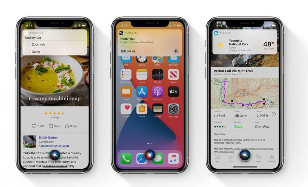 Siri görünümü yenileniyor