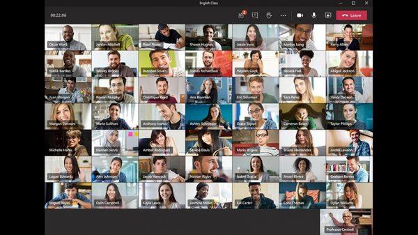 Microsoft Teams, aynı anda 49 kişiye kadar katılımcıyı destekleyecek