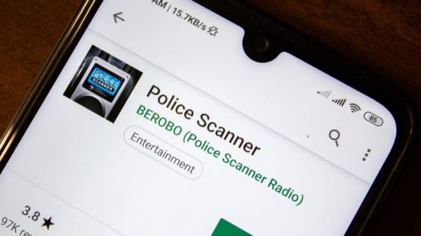 iOS - Police scanner