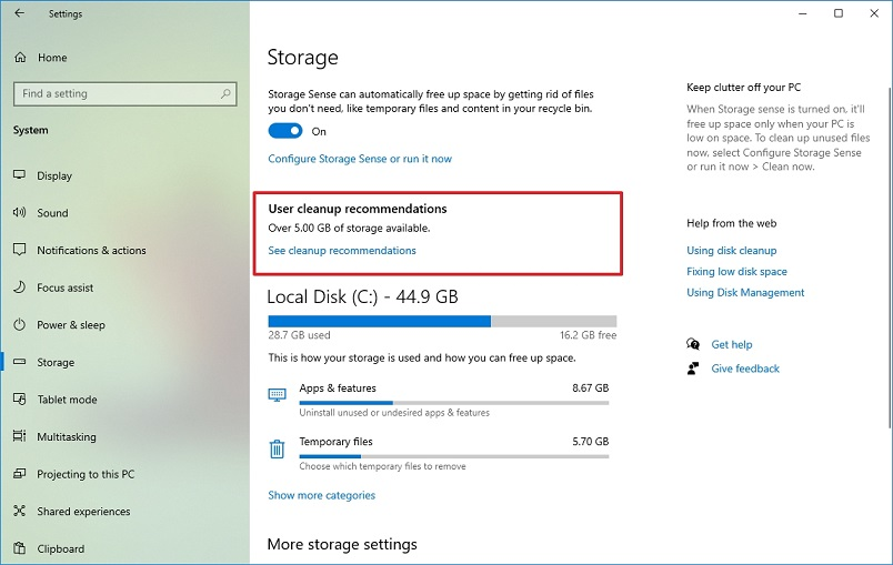 Windows 10 Kullanıcı Temizleme Önerileri