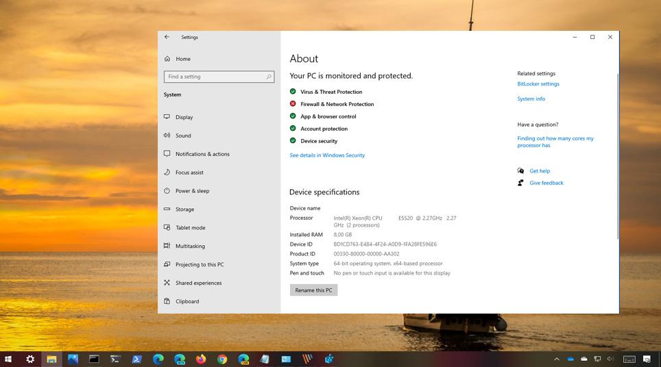 Windows 10 bilgisayar adı değiştirme