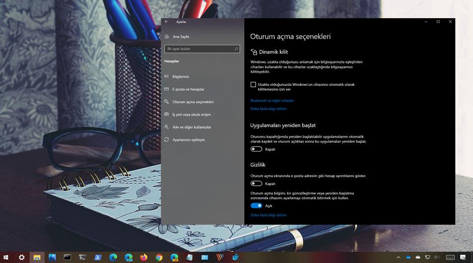 Windows 10 Dinamik Kilit nedir