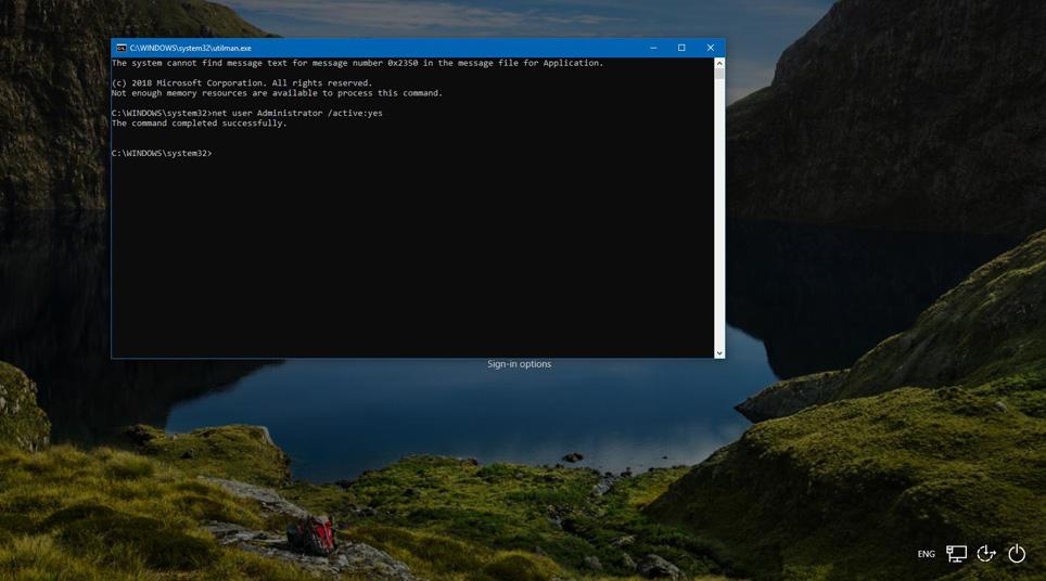 Windows 10'da unutulan şifreyi kaldırma