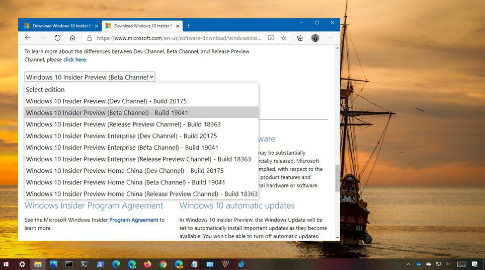 Windows 10 20H2 ISO İndir - Önizleme Sürümü
