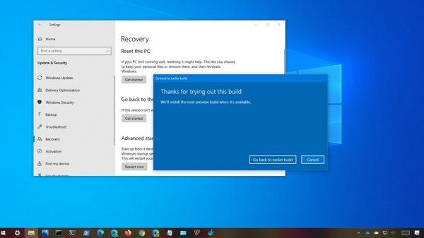 Windows 10 20H2 Nasıl Silinir?