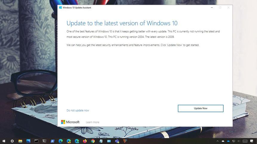 Güncelleme Yardımcısı ile Windows 10 20H2 Sürümü Yüklemek