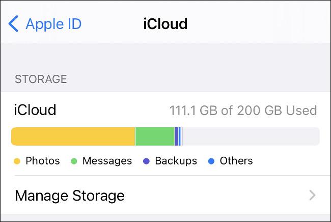 iCloud - Depolama Alanı