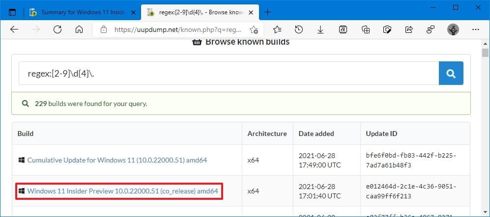 Windows 11 ISO indirme adımları - UUP Dump ile