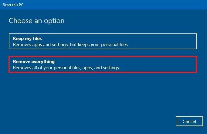 Windows 11 sıfırlama adımları