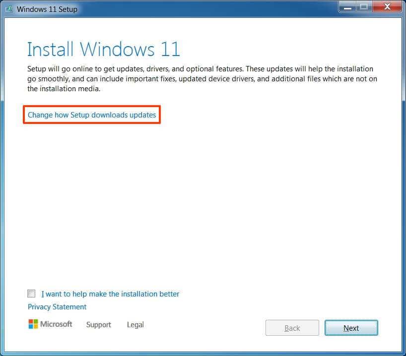 Windows 7'den Windows 11 Yükseltmek